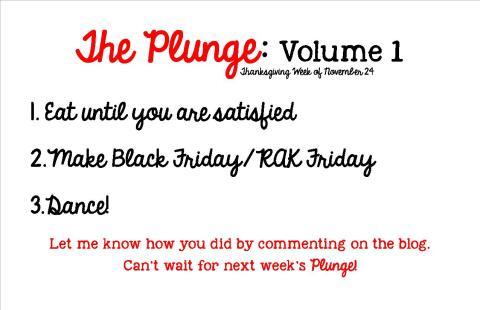 Plunge Week 1