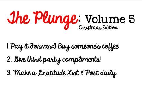 Plunge Week 5