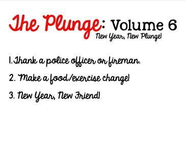 Plunge Week 6