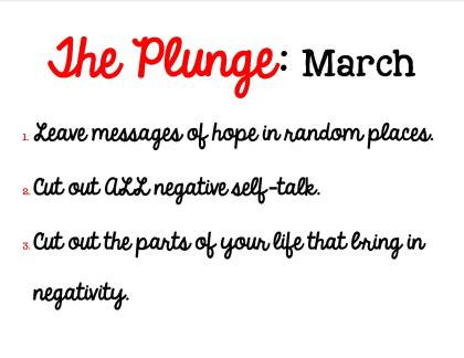 Plunge March 2015