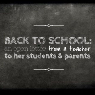 back to school blog