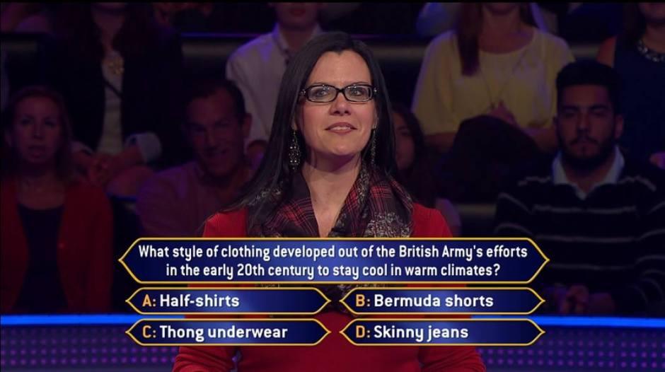 millionaire question