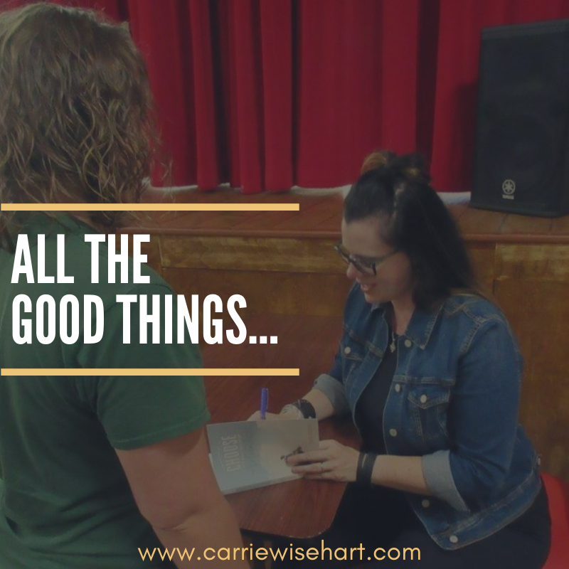all the good things…
