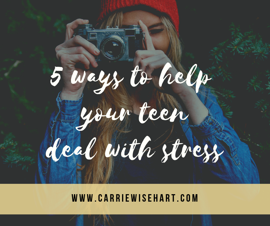 5 ways parents can help their teens deal with stress