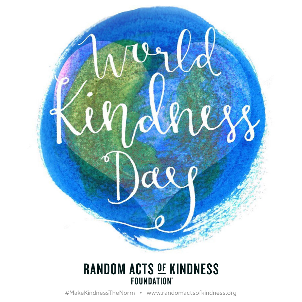an easy way to add a little kindness to your world