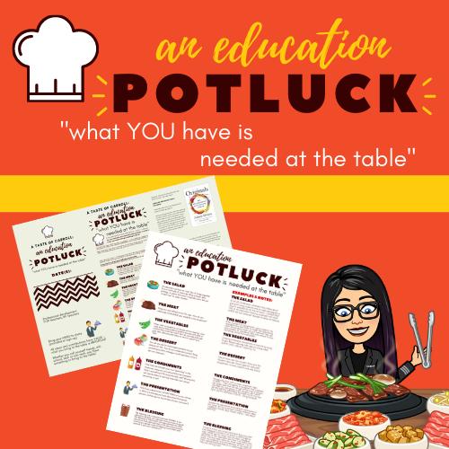 "potluck: a ""DIY"" type of teacher training"